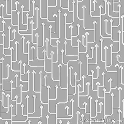 Free Arrows Pattern Royalty Free Stock Photography - 16780837