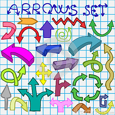 Arrows set