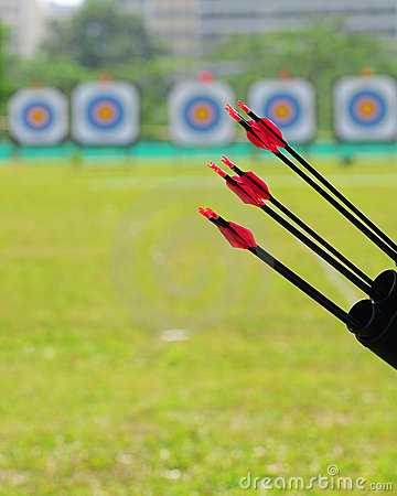 Arrows and targetboard