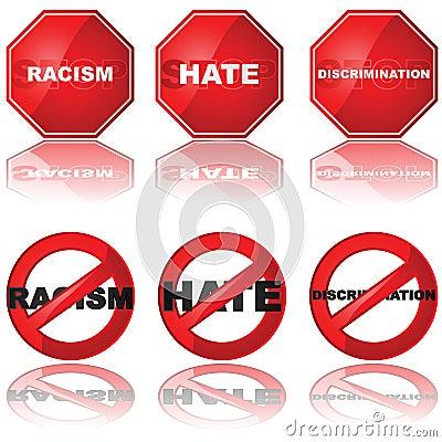 Arrêtez la discrimination