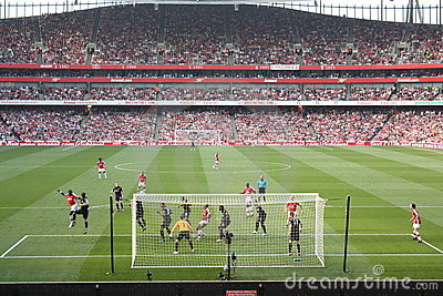 Arsenal-Manchester City Editorial Photography
