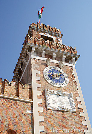 The Arsenal Tower, Venice, Italy