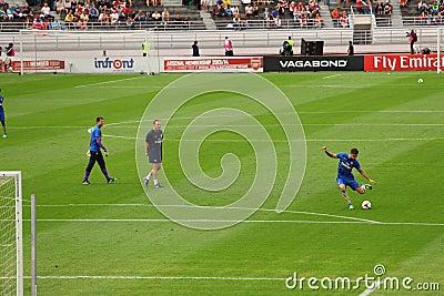 Arsenal Friendly Training Helsinki Editorial Stock Photo