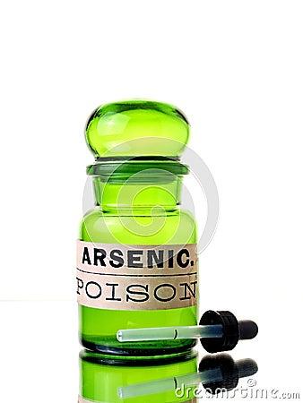 Free Arsenic Bottle Stock Photos - 23794413