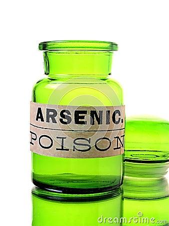 Free Arsenic Bottle Stock Images - 23794424