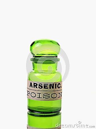 Free Arsenic Bottle Royalty Free Stock Images - 23798419