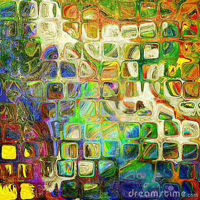 Art abstract rainbow pattern background