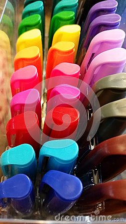 Free Art: Colorful Markers Royalty Free Stock Photo - 49663195