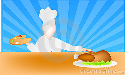 The art of cooking vector