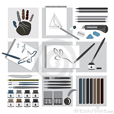 Art and craft elements – Drawing