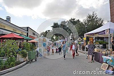 Cocoa Village Art And Craft Fair