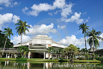 The Art And Cultural Center, Thiland Stock Images - Image ...
