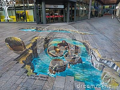 illusion d optique - Page 2 Art-de-rue-montrant-l-illusion-optique-66193846