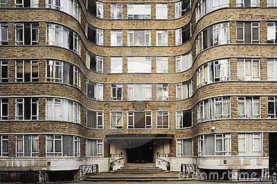 Art Deco Apartment Block