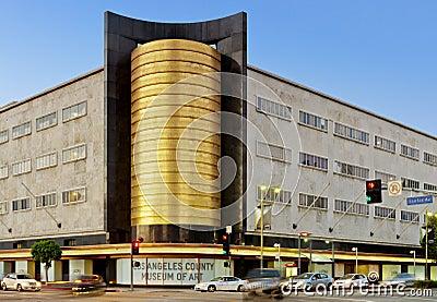 Art Deco Architecture in Los Angeles Editorial Stock Photo