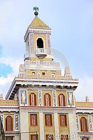 Art deco building in havana