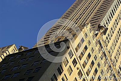 Art Deco Chrysler Building Editorial Stock Image