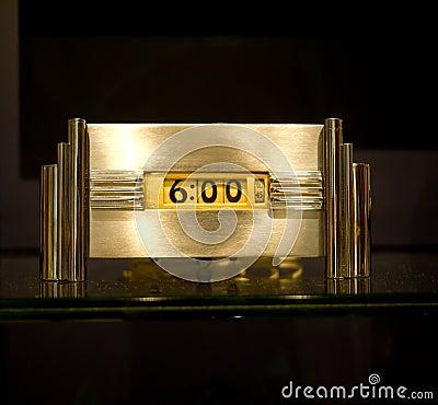 Free Art Deco Clock Stock Photos - 21672413