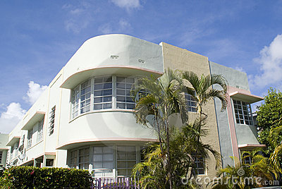Art deco condominium