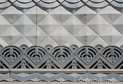 Art Deco Detail Royalty Free Stock Photography Image