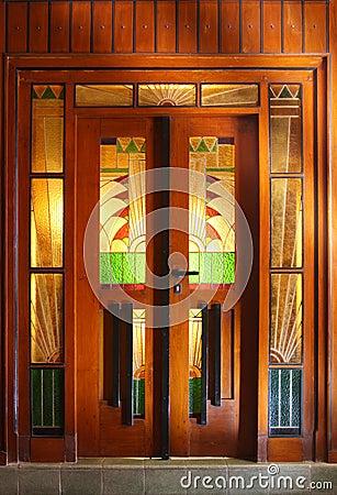 Free Art Deco Door Stock Photo - 7311960