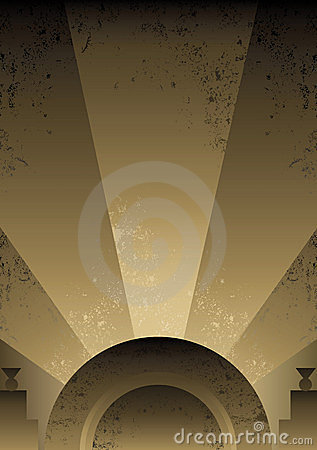 Free Art Deco Futurist Style Background Design Royalty Free Stock Photos - 8219338