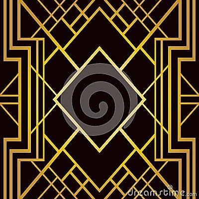 Free Art Deco Geometric Pattern Stock Photos - 36418493