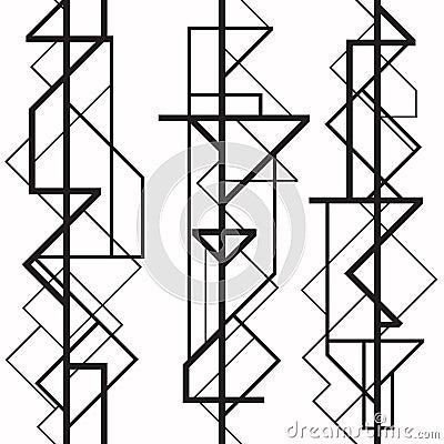 four black and white art deco frames stock photo image 11182550 art deco furniture lines