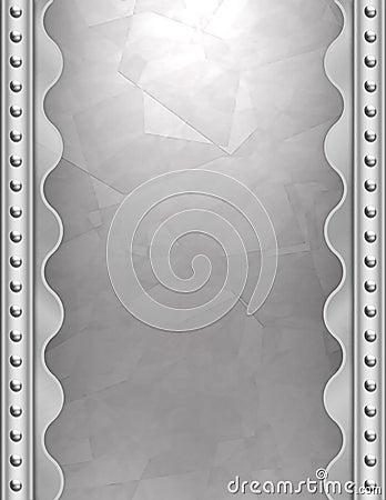 Art Deco metallic background