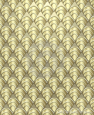 Free Art Deco Pattern Background Royalty Free Stock Images - 5267669