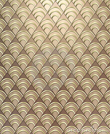 art deco pattern background
