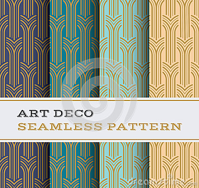 Free Art Deco Seamless Pattern 05 Royalty Free Stock Photography - 70639727