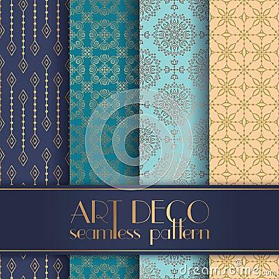Free Art Deco Seamless Pattern Royalty Free Stock Photo - 99091115