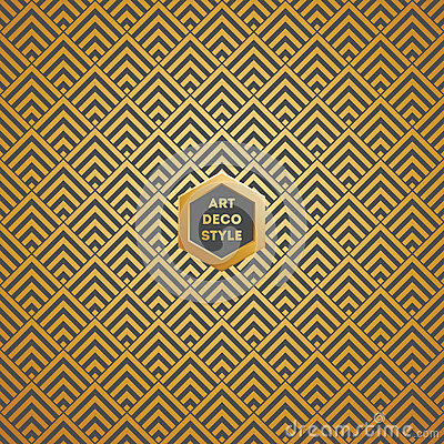 Free Art Deco Seamless Vintage Wallpaper Pattern Stock Image - 41041241
