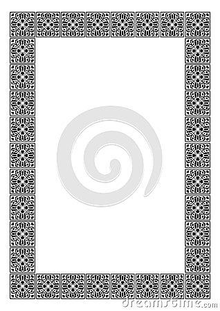 Art deco simple  frame