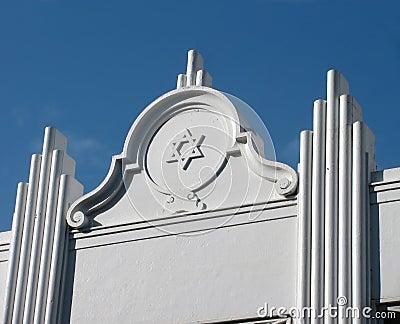 Art Deco Star of David