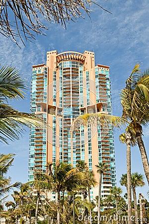 Art Deco style condominiums