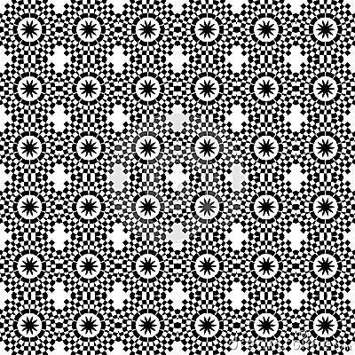 Art Deco style tile geometric seamless pattern