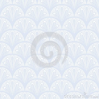 Free Art Deco Vector Geometric Pattern In Silver White. Royalty Free Stock Photos - 36184398