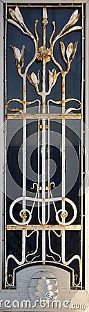 Free Art Deco Window Detail Stock Image - 7507561