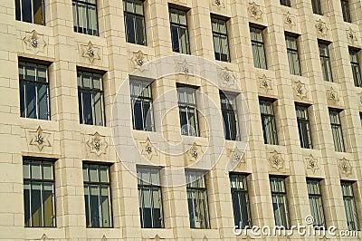 Art Deco window pattern