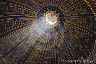 Art Dome of a cathedral
