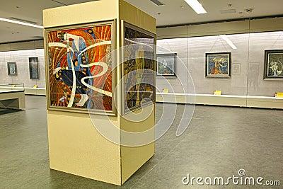 Art exhibition Editorial Photo