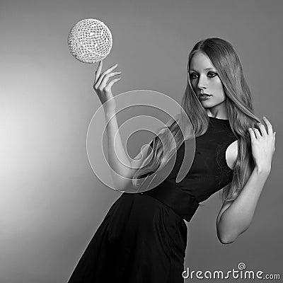 Free Art Fashion Photo Of A Woman Stock Photography - 2321232