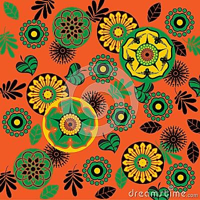 Art Deco Floral Patterns