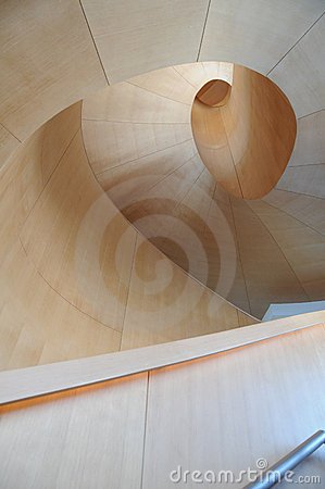 Art Galler of Ontario Gehry Staircase 6 Editorial Photo