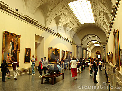 Art gallery Editorial Stock Photo