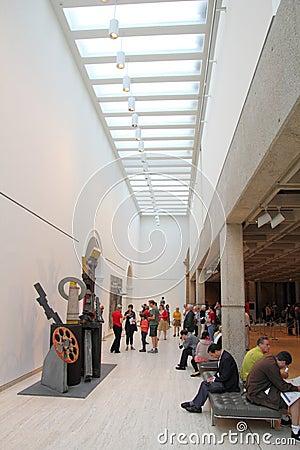 Art gallery Editorial Stock Image
