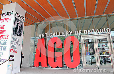 Art Gallery Of Ontario Editorial Stock Image