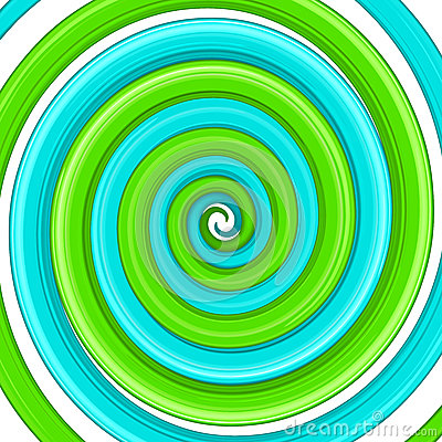 Art glossy twirl. Abstract background EPS 8
